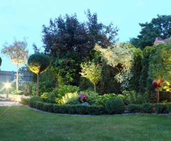 Gartenbeleuchtung Bild Referenz