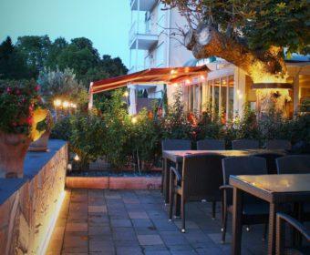 Gartenbeleuchtung Gastronomie