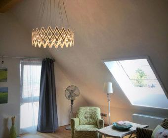 Pendelleuchte zur Wohnzimmer Beleuchtung