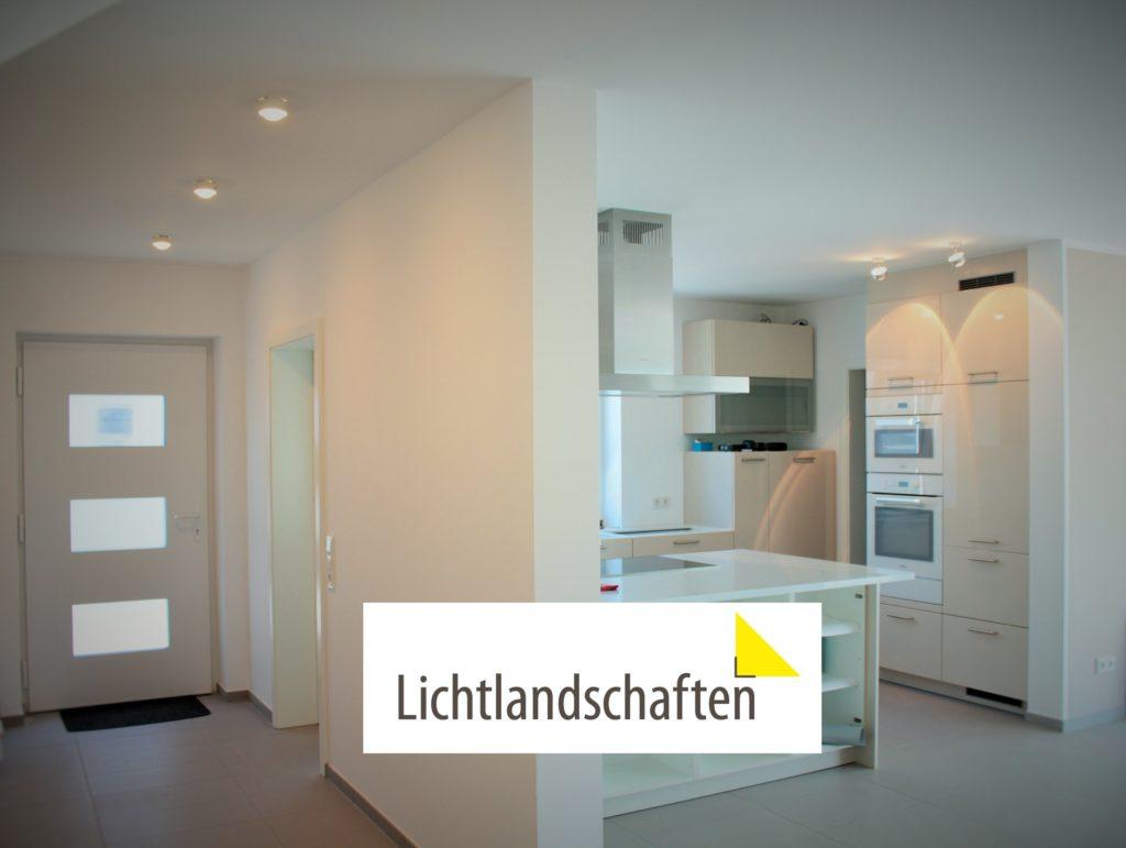 Akzentuierte Küchenbeleuchtung