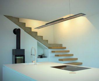 Moderne Pendelleuchte zur Küchenbeleuchtung
