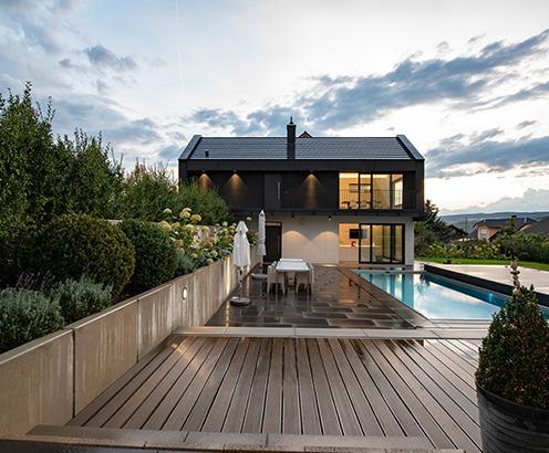 jeder wohnraum ben tigt eine individuelle beleuchtung lichtlandschaften. Black Bedroom Furniture Sets. Home Design Ideas