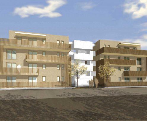 Barrierefreies Licht im gemeinnützigen Wohnungsbau